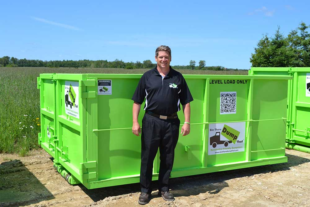 12 Yard Welland Dumpster