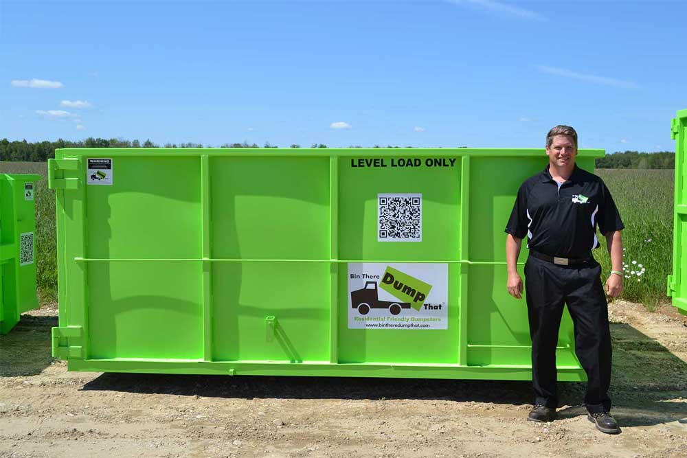 14 Yard Welland Dumpster